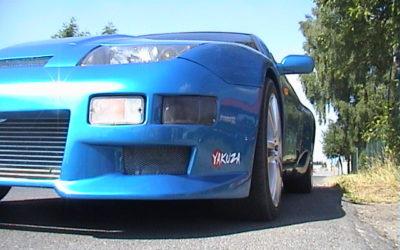 Nissan 300ZX Z32 Niebieski