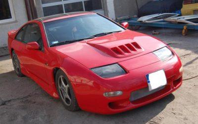 Nissan 300ZX Czerwony